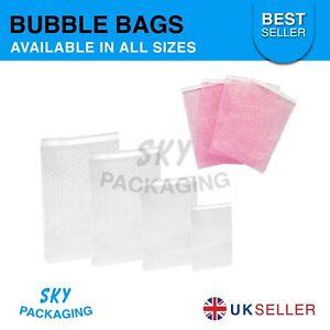 Bubble Wrap Bags Pouches Plain & Anti Static Envelopes :- BEST PRICE :-ALL SIZES