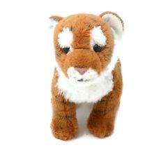 "FAO Schwarz Bengal Tiger Cub Soft Plush Stuffed Cat Animal Toy 9"""