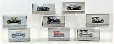 Readers Digest Die Cast Cars Lot of 8 Model T, Oakland, Pierce Arrow, Packard