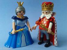 PLAYMOBIL lot 2 figurine ROI et REINE NEUF sous blister Ref.6378