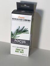 """BRAND NEW Crane Humidifier Liquid """"Focus"""" Blend of Rosemary Lavender & Lemon 8oz"""