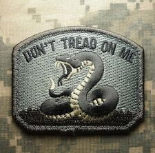 DON'T TREAD ON ME ARMY TEA PARTY SNAKE ISAF ACU MILSPEC VELCRO® BRAND PATCH