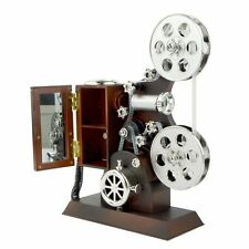Antique Vintage Hand Crank Grand Film Projector Movement Music Musical Box