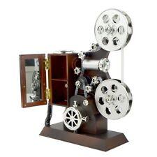 Antique Vintage Hand Crank Grand Film Projector Movement Music Musical Box