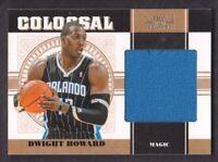 2010-11 National Treasures Colossal Jersey #26 Dwight Howard /49 Orlando Magic
