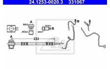 ATE Tubo flexible de frenos PEUGEOT SEAT CITROEN VOLKSWAGEN GOLF 24.1253-0020.3