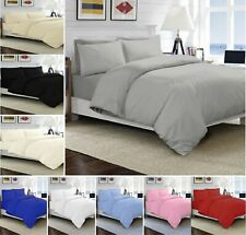 Luxuries 100% Egyptian Cotton 200TC Hotel Quality Duvet Quilt Cover Set All Size