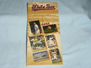 CHICAGO WHITE SOX  1988 Media Guide YEARBOOK excellent condition