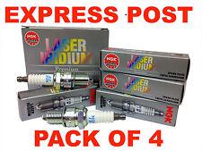 NGK SPARK PLUGS SET BPR5EIX X 4 - FORD FALCON XE LASER JAGUAR XJ6 PATROL PULSAR