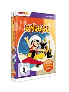Sindbad- TV-Serien Komplettbox [6 DVDs mit 42 Folgen /NEU/OVP] Zeichentrick