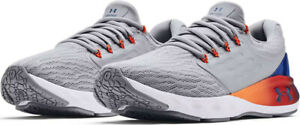 NIB UNDER ARMOUR 3024489 100 MENS UA CHARGED VANTAGE SP PNR  GREY SNEAKERS SHOES