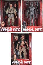 ASH vs. THE EVIL DEAD SERIES 2 ACTION FIGURE SET ~ Henrietta, Ash, Demon Spawn