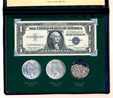 1888 MORGAN SILVER DOLLAR  1922 PEACE SILVER DOLLAR 1957B SILVER CERT & BULLION