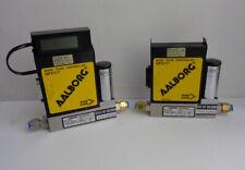 Lot of 2, Aalborg Gfc17 Mass Flow Controller