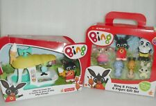 BING Bunny 6 Figures Playset+Gilly Playset Figures Vehicle Fisher Price🐰 BNIB🐰
