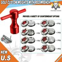 Golf Custom Weight Wrench for Titleist Scotty Cameron GoLo Putter Red 5g-40g USA