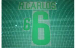 Flocage R. CARLOS Brésil - maillot  Patch Football Brasil Brazil