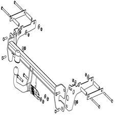 Desmontable Brida Barra de remolque Witter Gancho de remolque para Ford MONDEO HATCHBACK 2000-2007