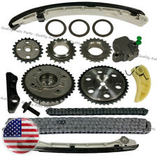 Timing Chain Washer Gear Kit for MAZDA 3 6 CX-7 2.3L 2007-2013 with VVT ACUATOR
