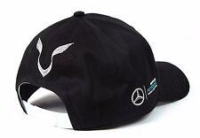 *WOW* 2017 LEWIS HAMILTON MERCEDES AMG PETRONAS F1 BASEBALL DRIVERS CAP HAT