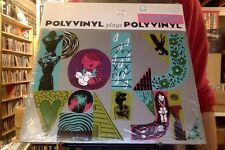Polyvinyl Plays Polyvinyl 2xLP sealed 180 gm pink teal colored vinyl + DL RSD