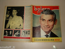 BOLERO=1956/486=JEFF CHANDLER COVER MAGAZINE=KATYNA RANIERI=JAMES DEAN=ROMANZO=
