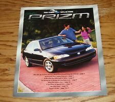 Original 2001 Chevrolet Prizm Sales Brochure 01 Chevy