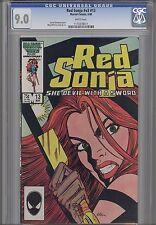 Red Sonja V3 #13 CGC 9.0 1986  Marvel Barbarian Comic  Price Drop!