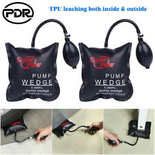 2× PDR Air Wedge Pump Bag Lever Inflatable Cushioned Bag Lift Pry Entry Tool Set