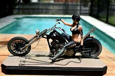 Gotham City Garage, Catwoman on Harley; #0036 of 2500