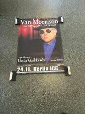 Van Morrison  - Original Concert Poster From Berlin In Germany