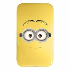 DESPICABLE ME MINIONS YELLOW POWER BANK + USB CABLE 4000mAH OFFICIAL
