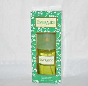 NIB Coty Emeraude Cologne spray 1.5 fl oz