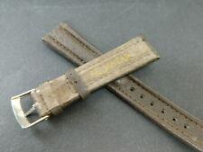 Aquastar bracelet cuir 18mm marron