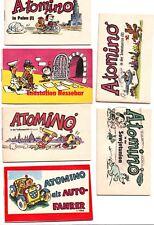 11 x  Atomino-Hefte TOP aus der Frösi Verlagsmappe 1969
