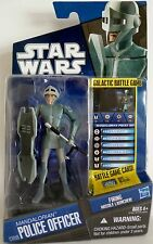 MANDALORIAN POLICE OFFICER Star Wars The Clone Wars Action Figure #CW09 2010
