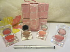 MODELS PREFER YBF DRAMA QUEEN 3 LIPSTICK/1 LIP GLOSS/LIP BRUSH /CASE~GREAT GIFT!