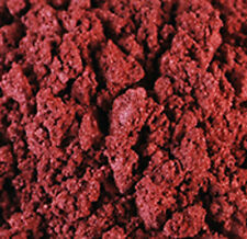 FIRE RED MICA, fine mineral powder, sparkling cosmetic color, 5grams, reflective