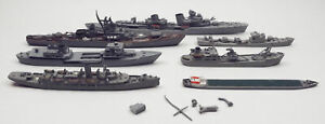 Lot of WWII Era and Cold War Soviet Ships 1/1250 Scale Repair or Salvage Parts