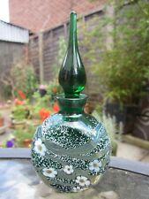 Greenwood glass perfume bottle