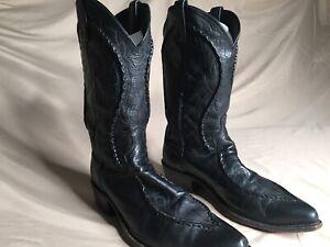 dan post cowboy boots size 11D