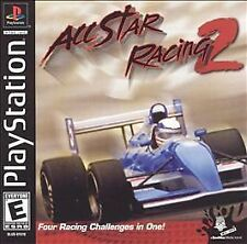 All Star Racing 2 NEW factory sealed black label PlayStation PSX PS1
