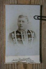 Posen  Husar Soldat  (10x6,5) Original Kabinett Foto