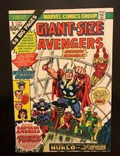 Marvel Giant Size Avengers #1 1974