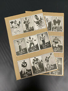 1961 CFL TOPPS FOOTBALL CARD LOT OF 18