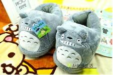 My Neighbor Totoro Soft Plush Stuffed Slipper One Pair Xmas gift Adult size