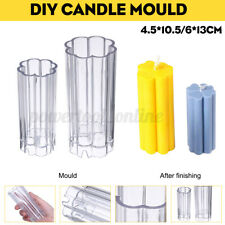 DIY Candle Making Mould Soap Molds Handmade Craft Tool Clay Holder Acrylic