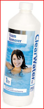 Clearwater CH0007 Foam Remover for Swimming Pool and Spa Treatment, 1 Litre