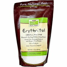 Now Foods 100% Pure Non-GMO Erythritol - 1 lb (454g)