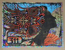 311 - Hartford, CT 8/21/18 Poster by Nate Duval - AP Lava Foil not Chuck Sperry
